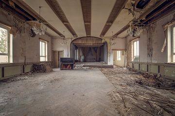 salle de danse abandonnée sur Kristof Ven