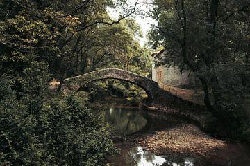 Schilderachtige plek in Frankrijk van Dick Carlier