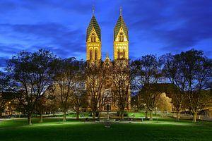 Kerk van het Heilig Hart van Jezus Freiburg van Patrick Lohmüller