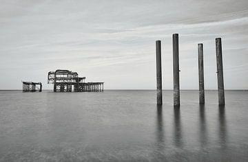 L'ancienne jetée de Brighton sur Mike Peek