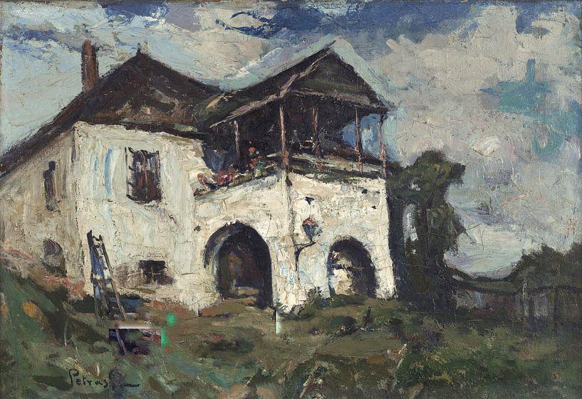 Gheorghe Petrașcu~Oude House von finemasterpiece
