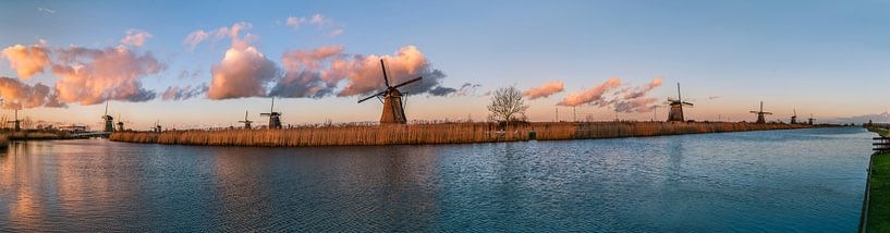 Kinderdijkse molens van Sander Poppe