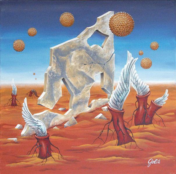 Alien World van Larysa Golik