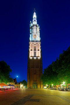 Nacht Foto Our Lady Turm Amersfoort von Anton de Zeeuw