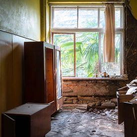 Verlassener Schulraum. von Roman Robroek