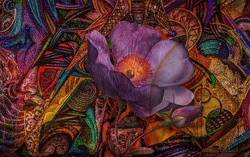 Flowerpower Art van Rudy en Gisela Schlechter
