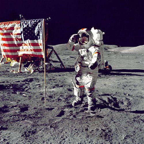 Eerste man op de maan, 1969 sur Moondancer .