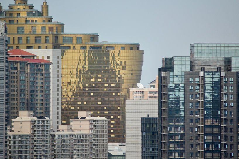 Moderne Architektur in Beijing China von Ingrid Meuleman