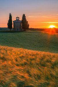 Chapel of the Madonna di Vitaleta - Tuscany - Italy