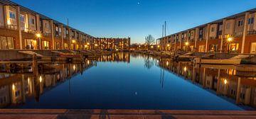 panorama Voermanhaven Groningen van