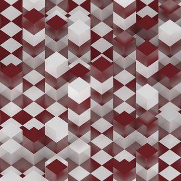 Cube Towers van Jörg Hausmann