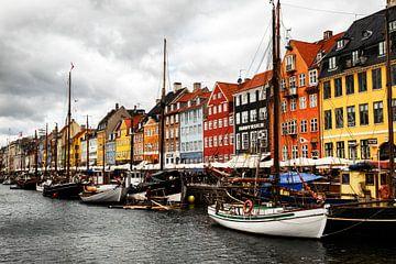 Kopenhagen - Nyhavn van Jan Sportel Photography