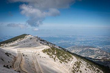 Mont Ventoux, France sur Fenna Duin-Huizing