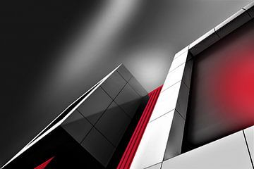 Belichtetes Gebäude von Anita Martin, AnnaPileaFotografie