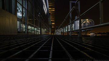 Terminal de croisière Rotterdam sur la Meuse sur Simon van Leeuwen
