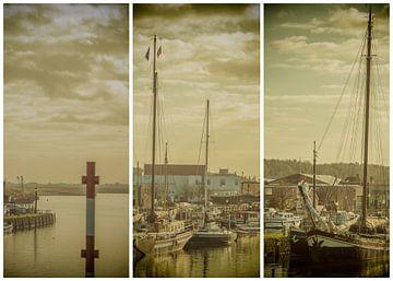 lauwersmeer triptychon 16 von anne droogsma