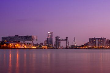 Rotterdam Maasboulevard kleur von Bert Meijer