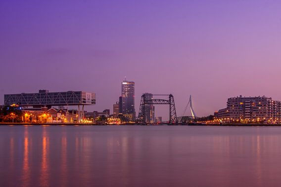 Rotterdam Maasboulevard kleur