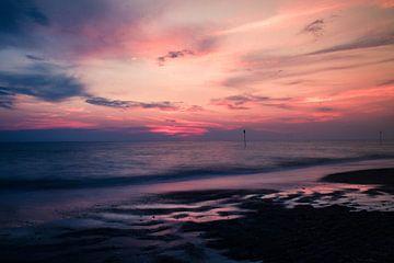Kleurrijke zonsondergang von Quinten Van Ooijen
