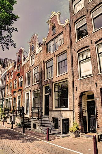 Jordaan Bloemgracht Amsterdam Nederland Oud