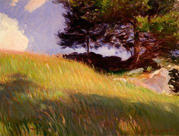 In der Nähe der June Street, Worcester, Massachusetts, John Singer Sargent