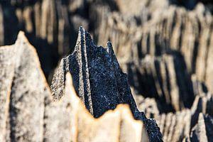 Puntige rotsen van de Tsingy
