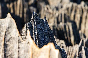 Puntige rotsen van de Tsingy von Dennis van de Water