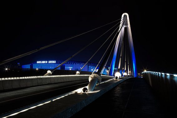Ghelamco arena brug van Eriks Photoshop by Erik Heuver