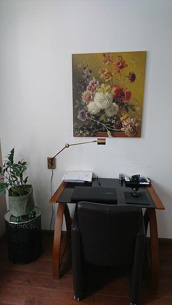 Kundenfoto: Stillleben mit Blumen in einem Vase