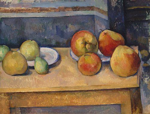 Paul Cézanne. Stilleven Met Appels En Peren van 1000 Schilderijen