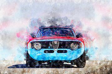 Alfa Romeo Giulia Sprint GTA von Theodor Decker