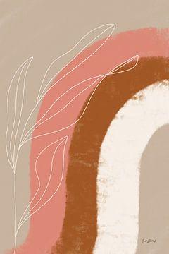 Woestijn zonsopgang III, Becky Thorns van Wild Apple