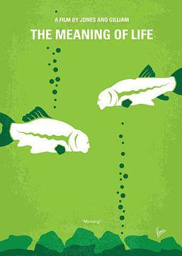 No226 My The Meaning of life minimal movie poster van Chungkong Art