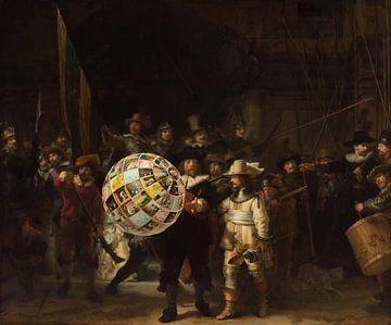 Die Nachtwache. Wer ist auf dem Wasserball? von Rudy & Gisela Schlechter