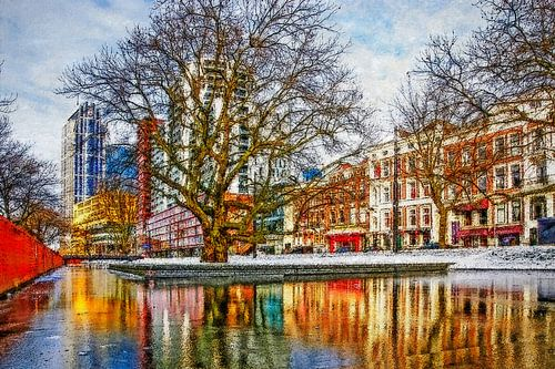 Winterbeeld Westersingel