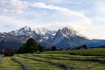 Zugspitze - la plus haute montagne en Allemagne sur