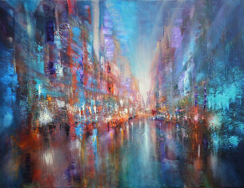 Die blaue Stadt van Annette Schmucker