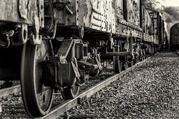 Treinwagons van Rob Boon