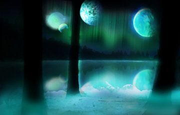 Planetarium - Painted (Future) van Jeffrey Miseroy