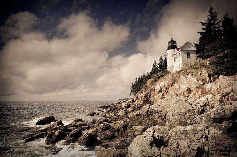 Bass Harbor Lighthouse van Sander van Leeuwen