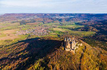 Kasteel Hohenzollern in Duitsland van Werner Dieterich