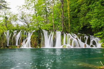 Natuurpark plitvice meren in Kroatië van Jennifer Hendriks