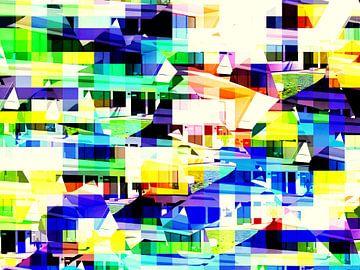 abstrakte City-Architektur  limitierte Edition 1-100