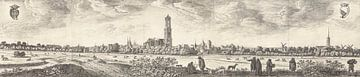 Blick auf Utrecht, Herman Saftleven, 1648