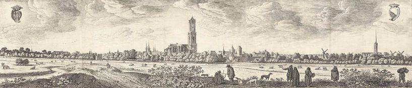 Blick auf Utrecht, Herman Saftleven, 1648 von Meesterlijcke Meesters