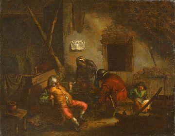 Smokers, Adriaen van Ostade