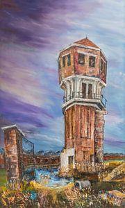 Wasserturm auf dem Indiëterrein