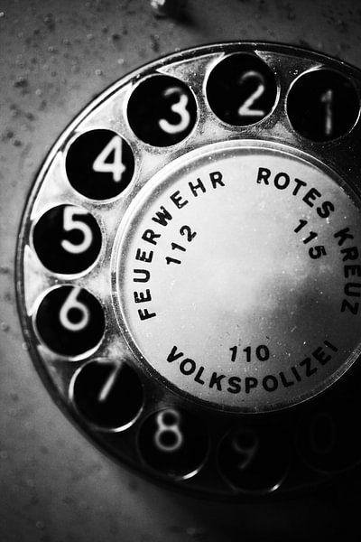 Telefoon wijzerplaat van Falko Follert