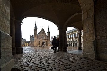 Poort Binnenhof à La Haye sur Anton de Zeeuw
