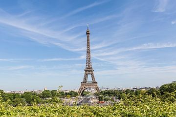 PARIS Tour Eiffel avec Skyline sur Melanie Viola